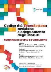 Nuoro – CTS: Revisione e adeguamento degli statuti. Seminario di studio e formazione