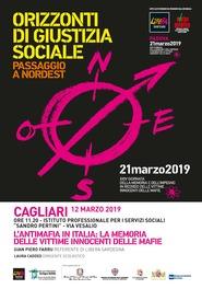 Cagliari – L'Antimafia in Italia: la memoria delle vittime innocenti delle Mafie