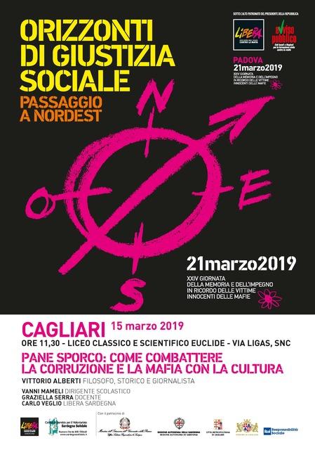 Cagliari – PANE SPORCO. Combattere la corruzione e la mafia con la cultura