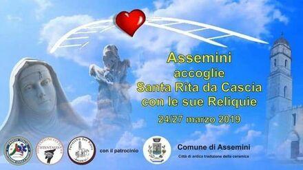 Da Cascia ad Assemini in cammino con Santa Rita