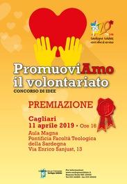 """Cagliari – Premiazione Concorso di Idee """"PromuoviAmo il Volontariato"""""""