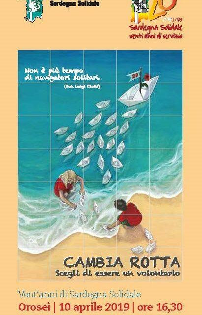Orosei – Inaugurazione ceramica artistica per i 20 anni di Sardegna Solidale