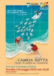 Terralba – Inaugurazione Ceramica artistica per i vent'anni di Sardegna Solidale