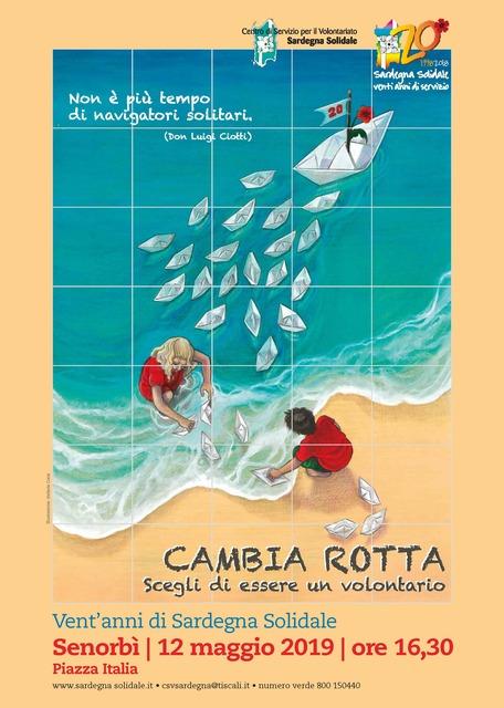 Senorbì – Inaugurazione ceramica artistica per i 20 anni di Sardegna Solidale