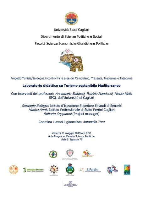 Cagliari – Laboratorio didattico su Turismo sostenibile Mediterraneo
