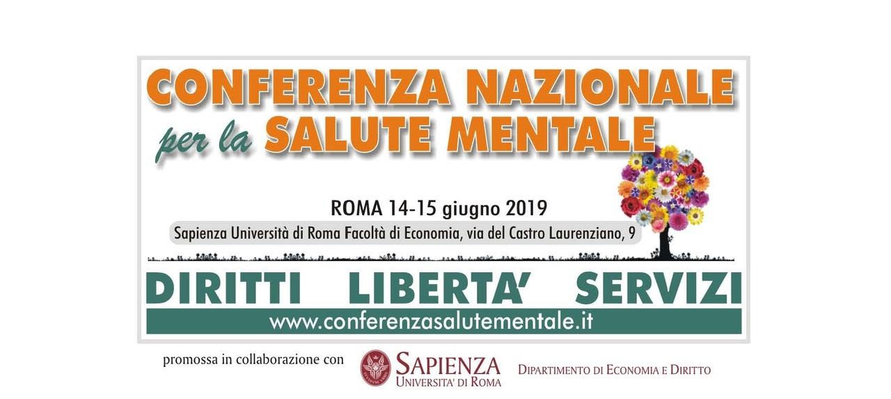 Roma – Conferenza Nazionale per la Salute Mentale