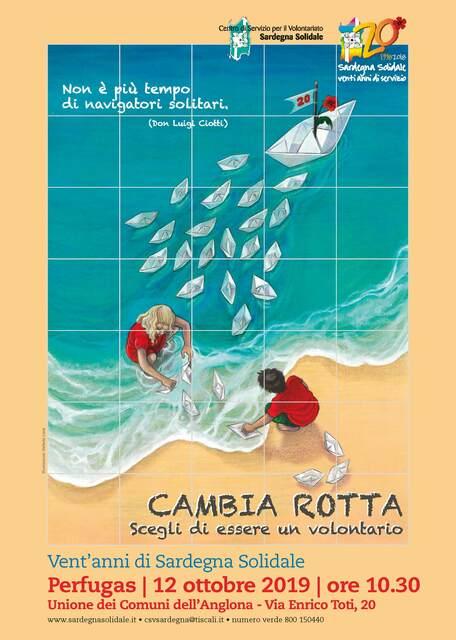 Perfugas – Inaugurazione Ceramica Artistica per il Ventennale di Sardegna Solidale