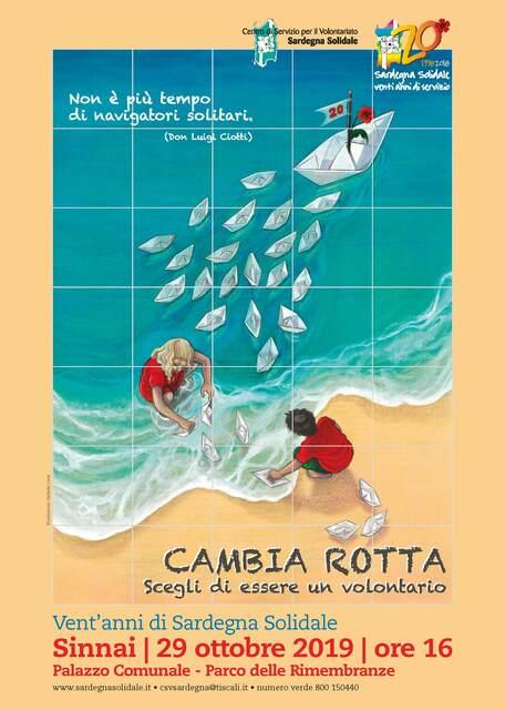 Sinnai – Inaugurazione Ceramica artistica per il Ventennale di Sardegna Solidale
