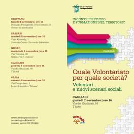 Cagliari – Il Sottosegretario Di Piazza interviene al seminario promosso dal CSV Sardegna Solidale
