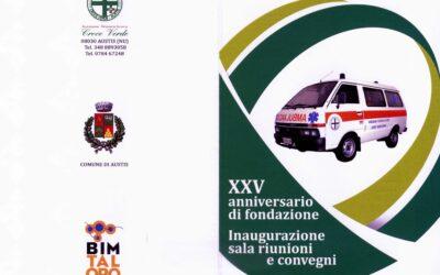 Austis     25° anniversario di fondazione della Croce Verde