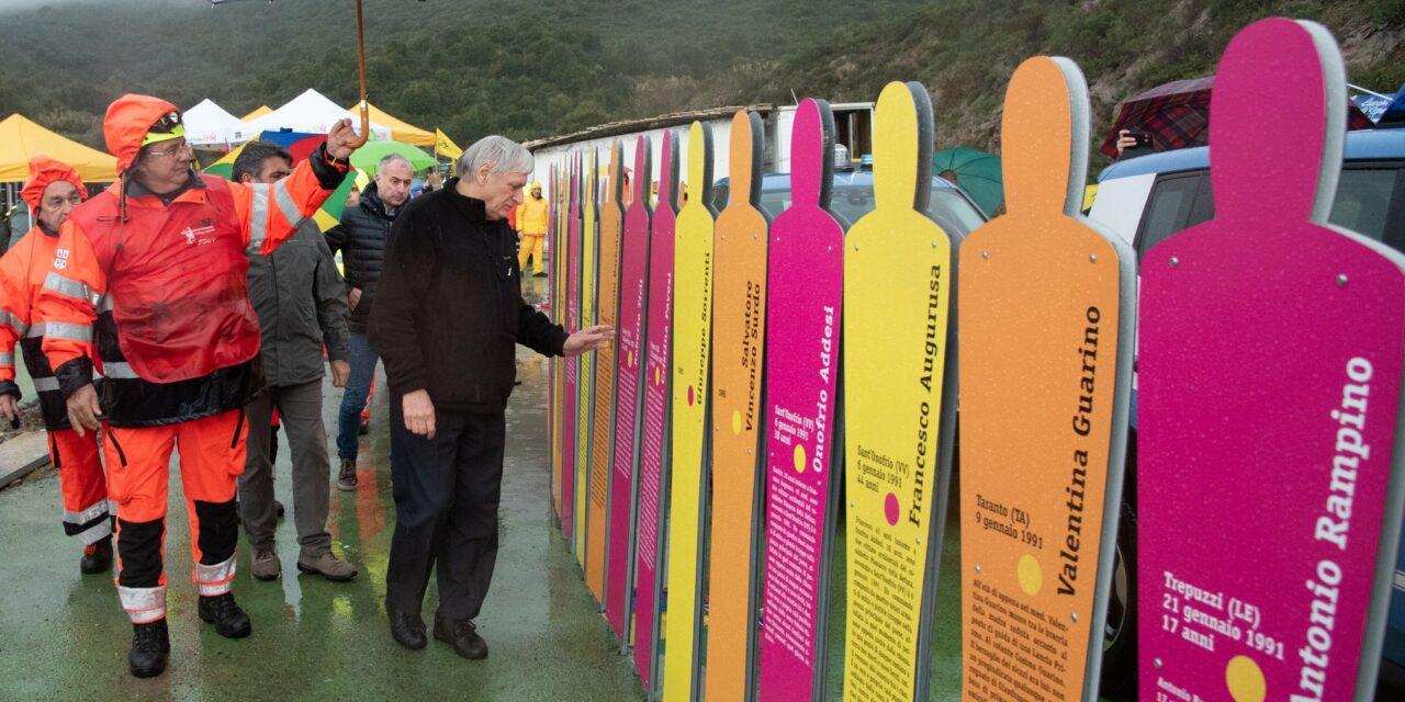 Gergei Su Piroi – Don Luigi Ciotti e 1500 studenti hanno inaugurato il Parco della Memoria