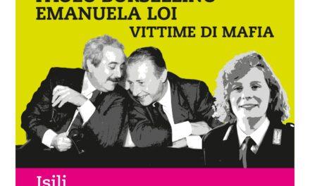 Isili – Cerimonia di intitolazione delle strade a Giovanni Falcone, Paolo Borsellino ed Emanuela Loi