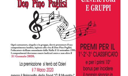 Ozieri – No alle Mafie. Parole e musica per Don Pino Puglisi