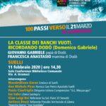 SUELLI – LA CLASSE DEI BANCHI VUOTI: RICORDANDO DODÒ