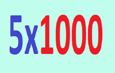 5×1000 – annualità 2020