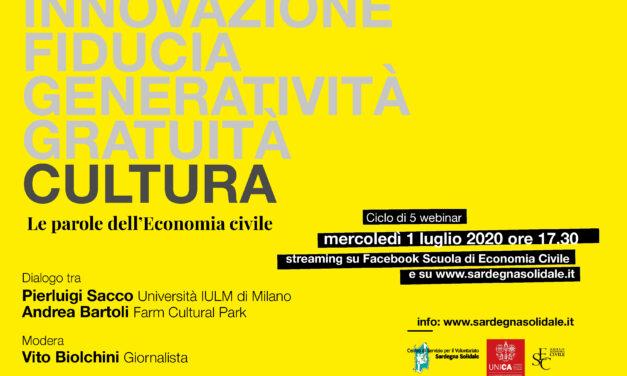 Le Parole dell'Economia Civile. #cultura