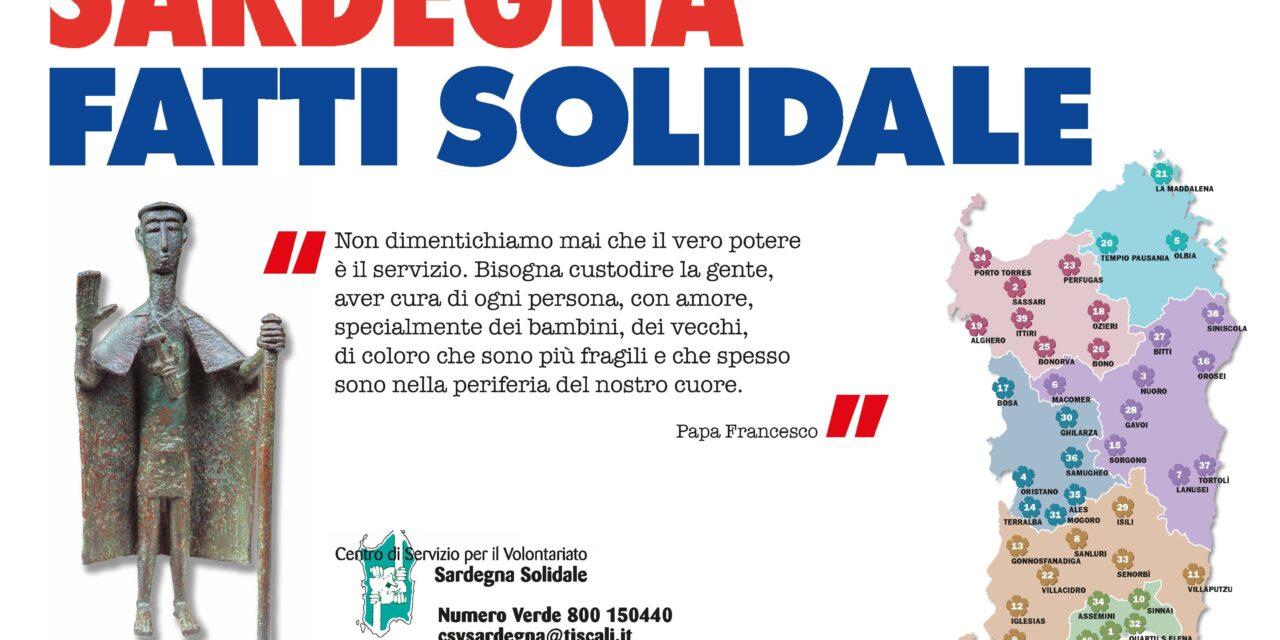267 SINDACI SARDI ESPRIMONO SOLIDARIETA' AL CSV SARDEGNA SOLIDALE