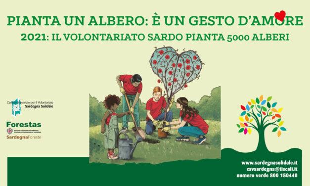 Sassari, Comunità S. Antonio – Pianta un albero: è un gesto d'amore