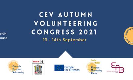 Berlin – CEV Autumn Volunteering Congress 2021